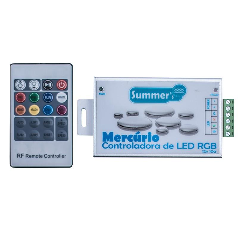 Controlador de led para piscina