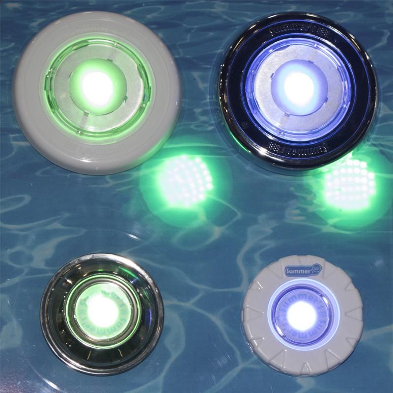 Luz subaquática